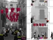 La flor escondida - Acción urbana
